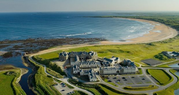 The lodge at Doonbeg Golf club