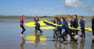 Lessons at Lahinch Surfschool